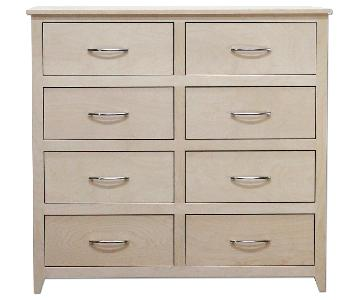 Douglas Furniture Empire Red Chest of Drawers