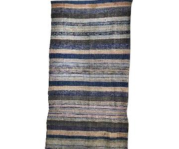 Antique Hand Woven Turkish Runner Kilim Rug