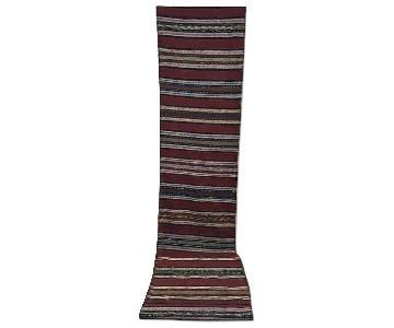 Hand Woven Antique Turkish Kilim Rug