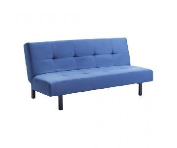 Ikea Balkarp Blue Sleeper Sofa