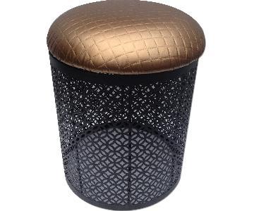 Modern In Designs Iron Soft Cushion Stool