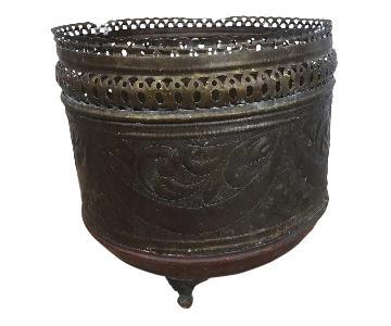 Oriental Copper Brass Vase Pot