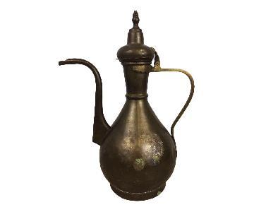Middle Eastern Arabic Islamic Coffee Tea Pot