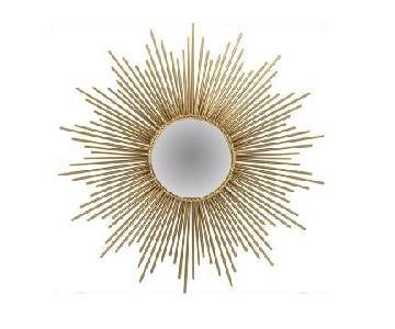 Mercer 41 Brass Sunburst Mirror