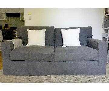 Crate & Barrel Full Sleeper Sofa