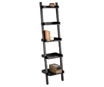 Container Store Black Free Standing Shelving