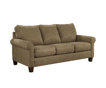 Jennifer Convertibles 3-Seater Sleeper Sofa+ Oversized Chair