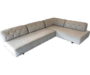 West Elm Tillary Tufted 7-Piece Sectional Sofa