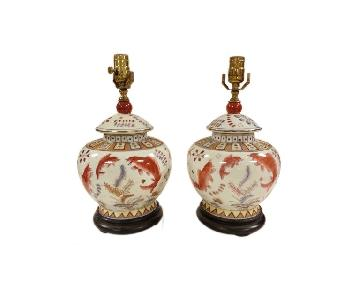 Chinese Porcelain Jar Lamps