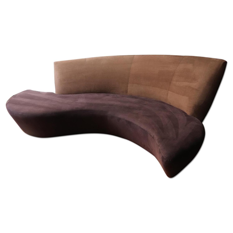 Delightful Preview Furniture Italian Ultrasuede Sofa ...