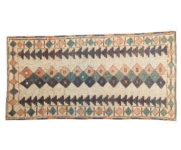Vintage Distressed Dosmealti Rug