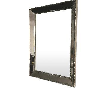 Restoration Hardware Silver Mirror