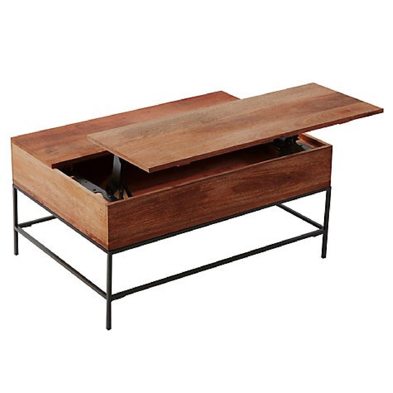 West Elm Industrial Storage Coffee Table ...