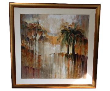 James Oil Painting on Canvas - Hot Tropics