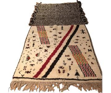 Moroccan Hand Made Tribal Area Rug