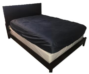 American Signature Queen Size Bed Frame w/ Headboard