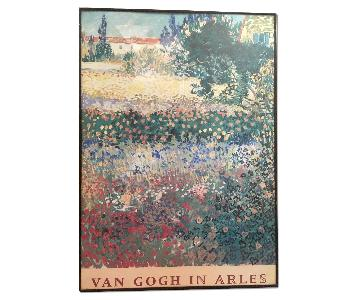 Framed Classic Vincent Van Gogh in Arles Floral Print