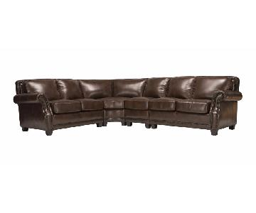 Raymour & Flanigan Ramona 4 Piece Sectional Sofa