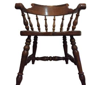 Wood Dining Arm Chair