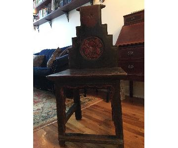 Antique Chinese Handcrafted Chair