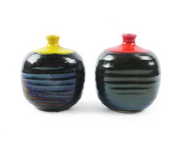 Vintage Ceramic Weed Pots