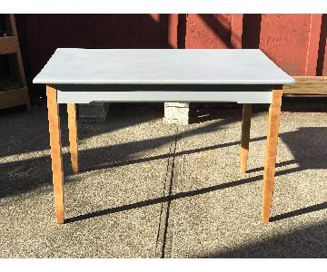 W.P. Curtiss and Son Upcycled Vintage Dining Table
