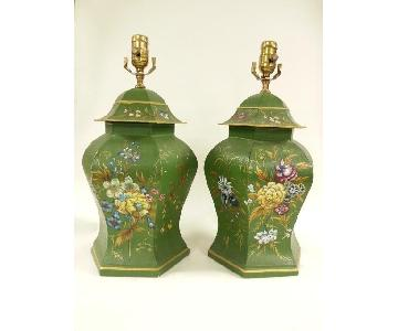 Chines Export Tole Lamps
