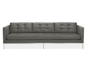 Room & Board Sabine Velvet Sofa