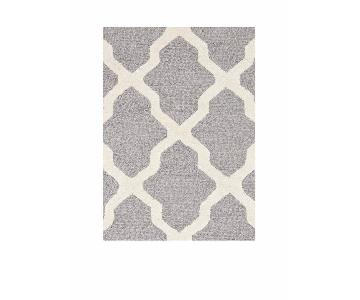 Safavieh Cambridge Rug in Silver & Ivory