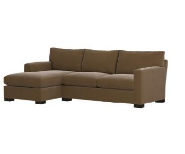 Crate & Barrel Left Hand Facing Sectional Couch