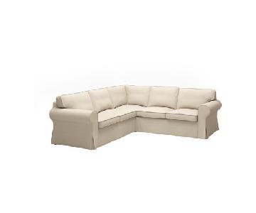 Ikea Ektorp 4 Seat Corner Sectional Sofa