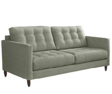 Younger Furniture Light Blue James Apartment Sofa