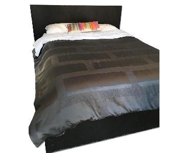 West Elm Storage Bed Frame w/ Headboard
