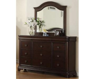Darby Home Co Brittany 9 Drawer Dresser w/ Mirror