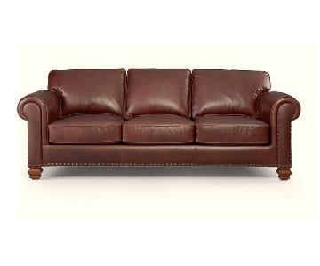 Ralph Lauren Stanmore Leather 3 Seater Couch