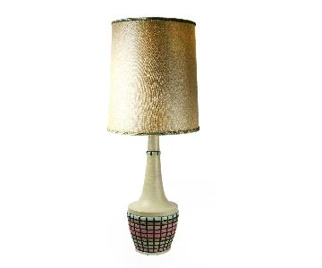 Fortune Lamp Co. Vintage Mid Century Modern Table Lamp