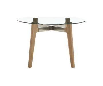 CB2 Mid-Century Modern Dining Table