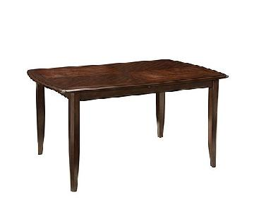Raymour & Flanigan Chace Drop-Leaf Dining Table