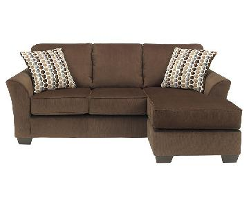 Ashley's L Shaped Sectional Sofa