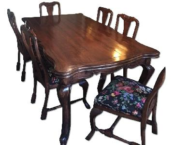 Solid Wood 9 Piece Dining Set