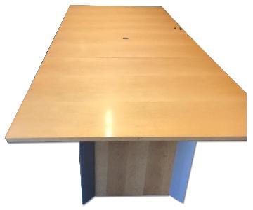 Wood Conference Room Table