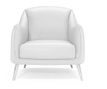 Natuzzi Platea Leather Chair