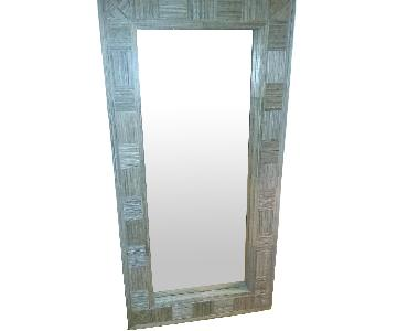 Oversize Wall Leaning Mirror