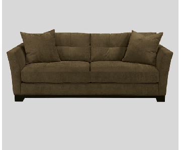 Macy's Dark Brown Sofa