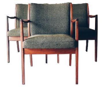 Etsy Walnut Mid-Century Arm Chair