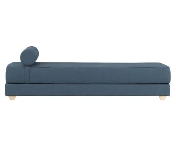 CB2 Lubi Turquoise Daybed