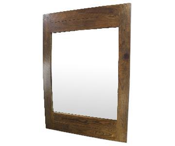 Full Length Barn Wood Mirror