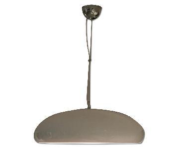 Modern White Aluminum Ceiling Lamp