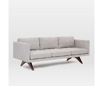 West Elm Brooklyn Sofa in Twill Wheat