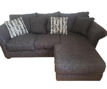 Serta Upholstery Grey Sectional Sofa